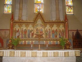 Dalhem Church - Image: Gotland Dalhems kyrka 04