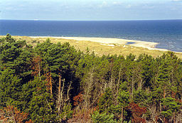 Bredsand, det nordvestlige hjørne af Gotska Sandön.
