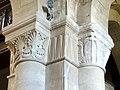 Gournay-en-Bray (76), collégiale St-Hildevert, bas-côté nord, chapiteaux du 1er pilier libre, côté nord-est.jpg