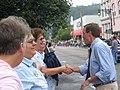 Gov. Warner at the Buena Vista Labor Day Parade (235248763).jpg
