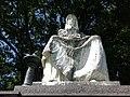 Grab Denkmal von Richard Kissling (1848–1919) für Johann Jakob Bachofen-Burckhard (1815–1887) Bachofen-Burckhardt- Petersen, Friedhof Wolfgottesacker, Basel.jpg