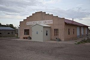 Grady, New Mexico - City Hall, Village of Grady