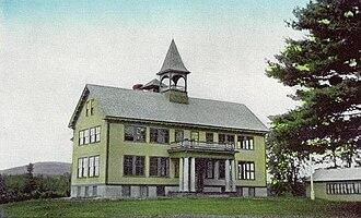 Conway, New Hampshire - Conway Grammar School c. 1915