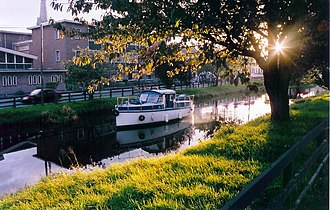 Tullamore - The Grand Canal, Tullamore