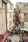 Grande Rue, Mont-Saint-Michel, France