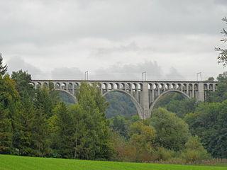 Grandfey Viaduct