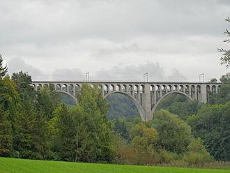 Granges-Paccot - Grandfey Bridge