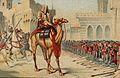 Grands conquerants - Omar, le 2eme calife, prenant en personne possession de Jerusalem l'an 638 de l'ere chretienne.jpg