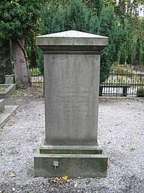 Grave of Jacob Georg Agardh in lund sweden.JPG
