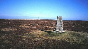 Rhos Fawr - The summit plateau of Rhos Fawr