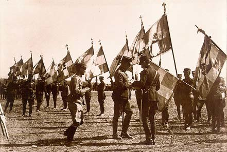 Greek Flags 1921