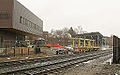 Greenfield passenger rail platform work site - December 2014.jpg