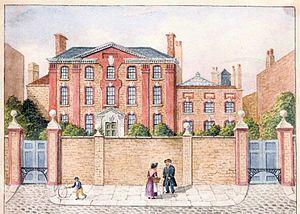 Charles Burney (schoolmaster) - Burney's Academy, Greenwich, in the 19th century