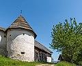Griffen Untergreutschach 5 Wehranlage Rundturm NW-Ansicht 26052017 8782.jpg