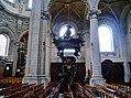 Grimbergen Basiliek Sint Servaas Innen Kanzel 1.jpg