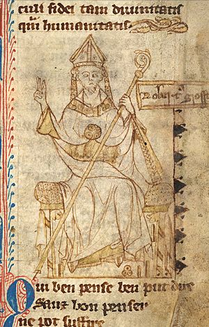 Robert Grosseteste - Image: Grosseteste bishop