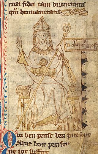 Robert Grosseteste - An early 14th-century portrait of Grosseteste