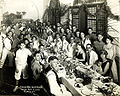 Group portrait of Passover Seder, Manila, Philippines, 1925.jpg