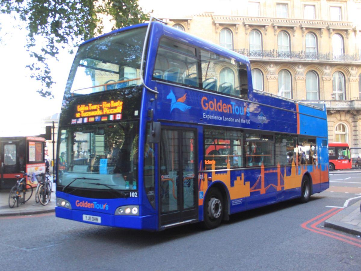 Golden Coach Tours London