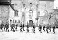 Gruppe von Infanteristen beim Bajonettfechten - CH-BAR - 3238130.tif