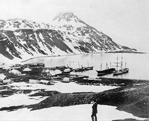 Carl Anton Larsen - Grytviken in 1914