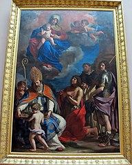 La Vierge à l'Enfant avec quatre saints