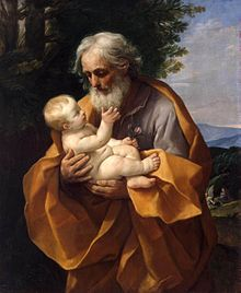 Guido Reni - St Joseph with the Infant Jesus - WGA19304.jpg