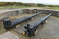 Gun emplacement at Battery Moltke, Les Landes, Jersey.JPG