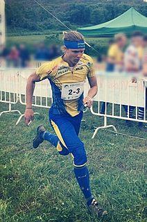 Gustav Bergman (orienteer) Swedish orienteer