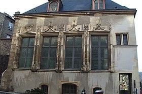 its Gothic facade.