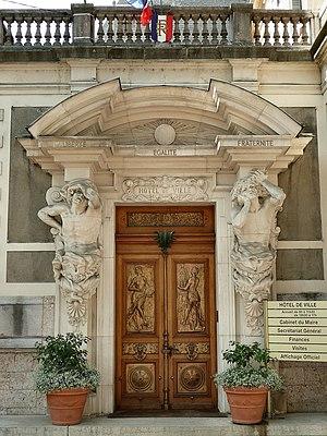 Évian-les-Bains - Entrance of the Lumières brothers' villa