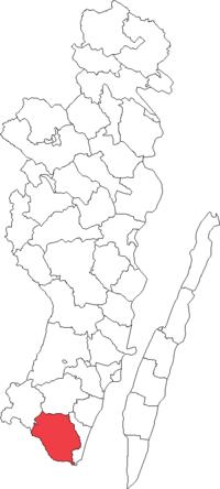 Torsås landskommune i Kalmar amt