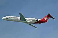 HB-JVH - F100 - Helvetic Airways