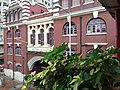 HK 上環 Sheung Wan north 干諾道中 Connaught Road Central Western Market facade morning August 2019 SSG 03.jpg