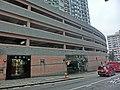 HK 北角半山 North Point Mid-Levels 雲景道 50 Cloud View Road 富麗園 Flora Garden entrance Apr-2014 n inddor carpark.JPG