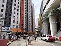 HK Aberdeen 石排灣 Shek Pai Wan 漁光道 45 Yue Kwong Road 漁暉苑 Yue Fai Court taxi May 2016 DSC.JPG