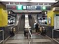 HK TST 尖沙咀 Tsim Sha Tsui MTR Station concourse A2 exit sign July 2020 SS2.jpg