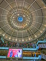 HK Tsuen Wan Plaza 荃灣廣場 mall Void ceiling May-2013 TV monitor.JPG