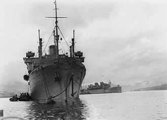 MS Batory - HMS Batory in WWII
