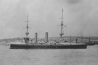 Henry Jackson (Royal Navy officer) - The cruiser HMS ''Juno'' which was equipped with wireless and commanded by Jackson