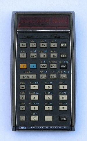 HP-55 - The HP-55