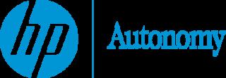 HP Autonomy British software company
