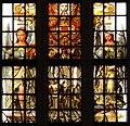 Haarlim, Grutte- of Bavotsjerke, brânskilderd raam (1743).jpg