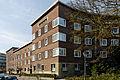 Haeuser Heerdter Sandberg 31 bis 35, Hansaallee 33 in Duesseldorf-Oberkassel, von Osten.jpg