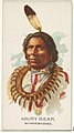 Hairy Bear, Winnebagoes, from the American Indian Chiefs series (N2) for Allen & Ginter Cigarettes Brands MET DP828000.jpg