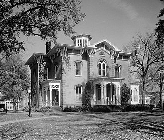 National Register of Historic Places listings in Ionia County, Michigan - Image: Hall Fowler Memorial Library
