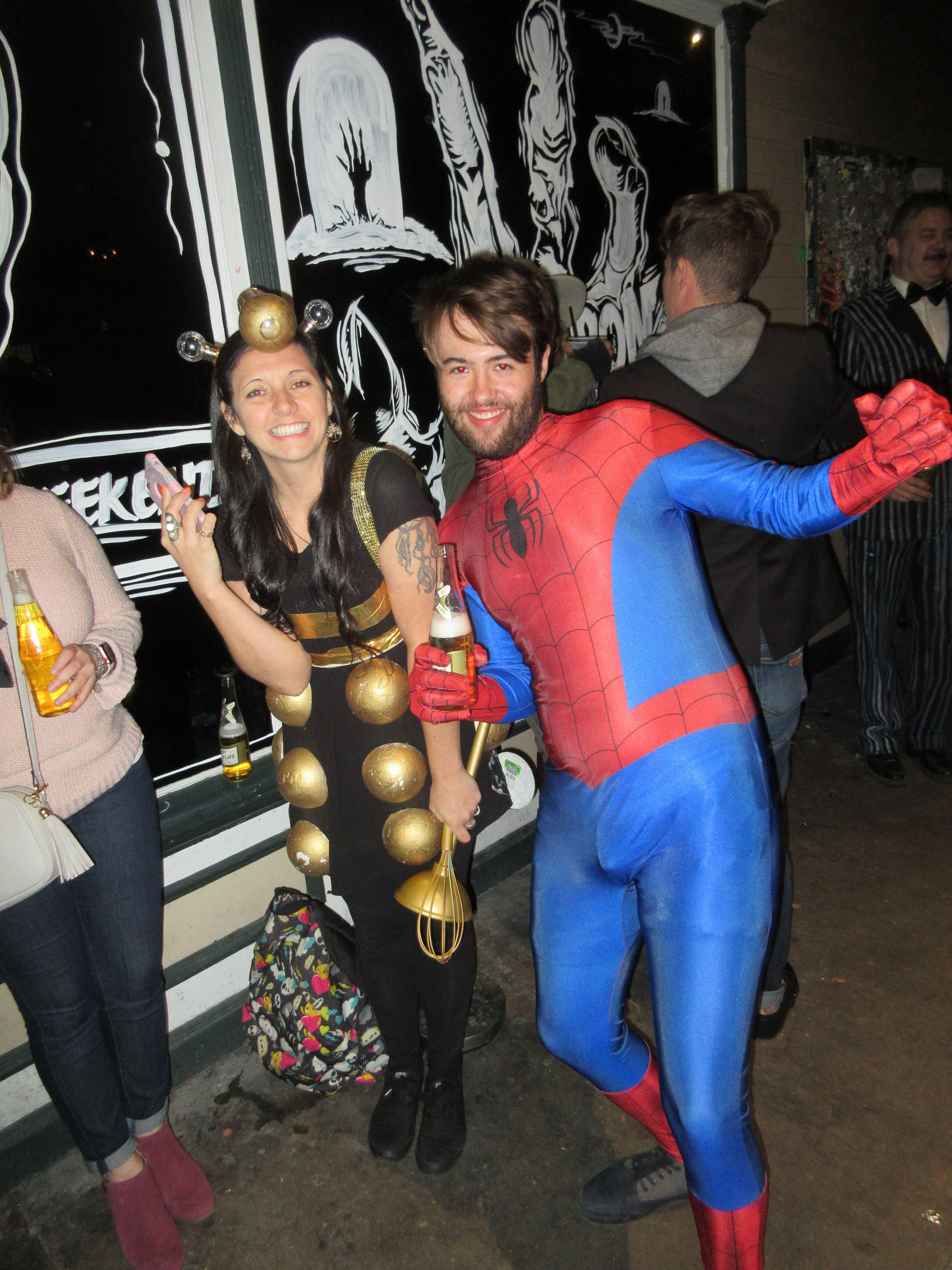 file:halloween 2017 in new orleans dalek spiderman - wikimedia