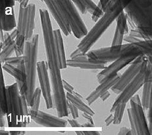 Halloysite - Image: Halloysite nanotubes TEM