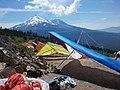 Hang gliders at Whaleback Launch - panoramio.jpg