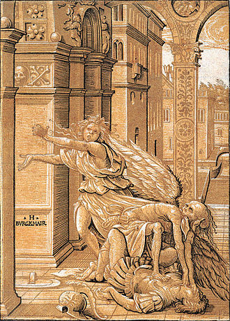 Hans Burgkmair - Image: Hans Burgkmair the Elder Lovers Surprised by Death